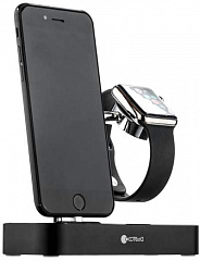Купить Док-станция COTEetCI Base Hub CS7200-BK для Apple Watch/iPhone (Black)