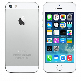 Apple iPhone 5S 32Gb Silver (ME436RU/A) LTE