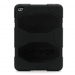 Купить Griffin Survivor All-Terrain - чехол для iPad Air 2 (Black/Black)