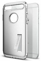 Купить Чехол Spigen Case Slim Armor (043CS20313) для iPhone 7 Plus/8 Plus (Silver)