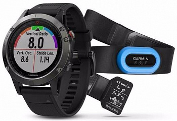 Купить Спортивные часы Garmin Fenix 5 Performer Bundle 010-01688-32 (Slate Grey/Black)