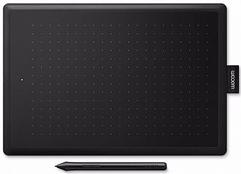 Графический планшет Wacom One Medium CTL-672 (Black/Red)