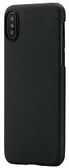Купить Чехол Pitaka Aramid Case для iPhone X (Black/Grey Plain)