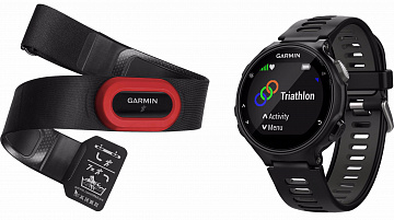Купить Спортивные часы Garmin Forerunner 735XT Run Bundle 010-01614-15 (Grey/Black)