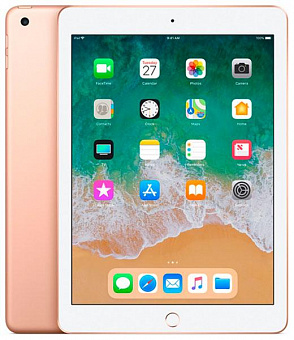 Планшет Apple iPad 2018 9.7'' 128Gb Wi-Fi MRJP2RU/A (Gold)