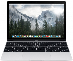 "Купить Ноутбук Apple MacBook 12"" Retina, Intel Core M3 1.1GHz, 8Gb, 256Gb SSD MLHA2RU/A (Silver)"