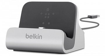 Купить Belkin Charge + Sync Dock (F8M389bt) - док-станция для смартфонов Samsung (Silver)