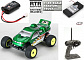 Losi Micro-T Stadium Truck 2WD RTR (LOSB0230T3) - радиоуправляемый трагги (Green)