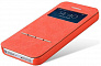 Baseus Terse leather сase - чехол для iPhone 5/5s (Red)