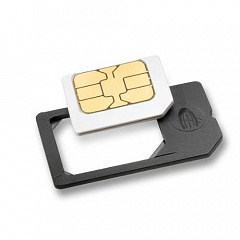 Купить MicroSIM Adapter - адаптер сим-карты (Black)
